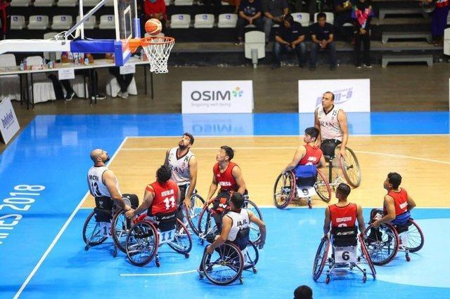 برتری قاطع تیم ملی بسکتبال ایران مقابل چین