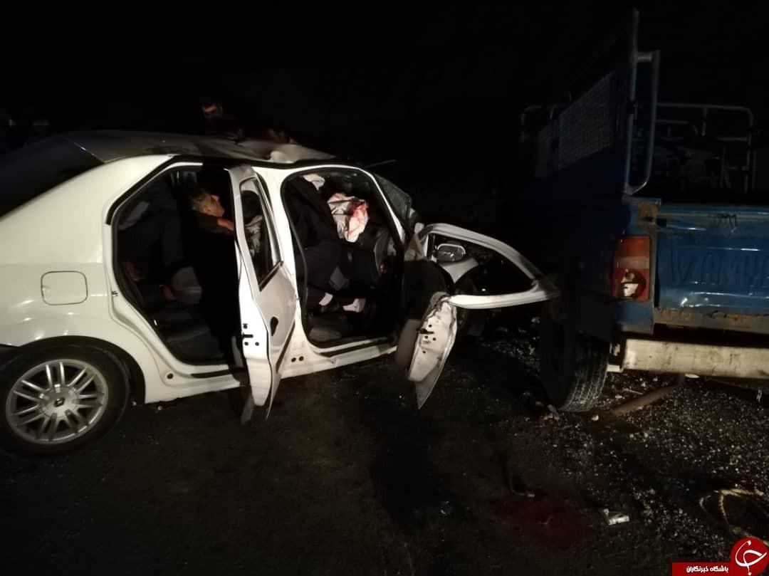 مدیر روابط عمومی اورژانس فارس؛ تصادف نیسان و تندر ال 90، 7 کشته و زخمی