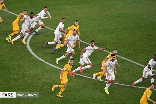 کنفدراسیون فوتبال آسیا علیه امارات