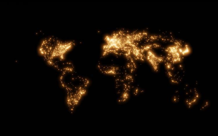 نقشه هایی که نشان می دهد دنیا چقدر کوچک است