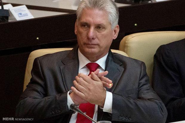 کوبا از ونزوئلا در برابر تحریم های آمریکا حمایت کرد