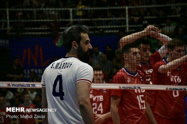 روسیه درس خوبی به والیبال ایران داد، باید به المپیک صعود کنیم