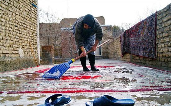 بهترین روش های شستشو و ترمیم فرش