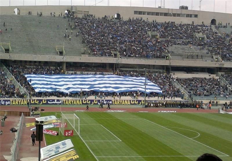 حضور 10 هزار نفر در استادیوم آزادی، تشویق قلعه نویی و شعار علیه پرسپولیس