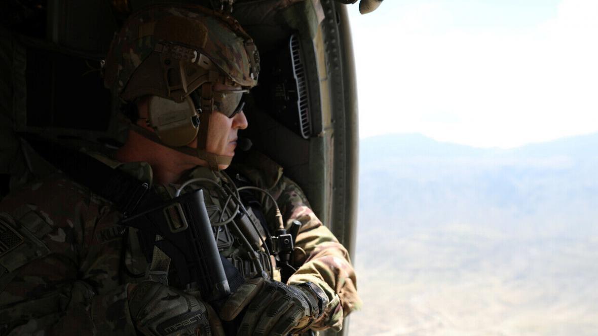 150 نظامی آمریکایی از سوریه به عراق منتقل شدند