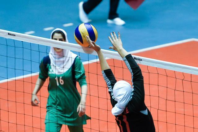 شکست دوباره تیم امیدهای والیبال دختران ایران