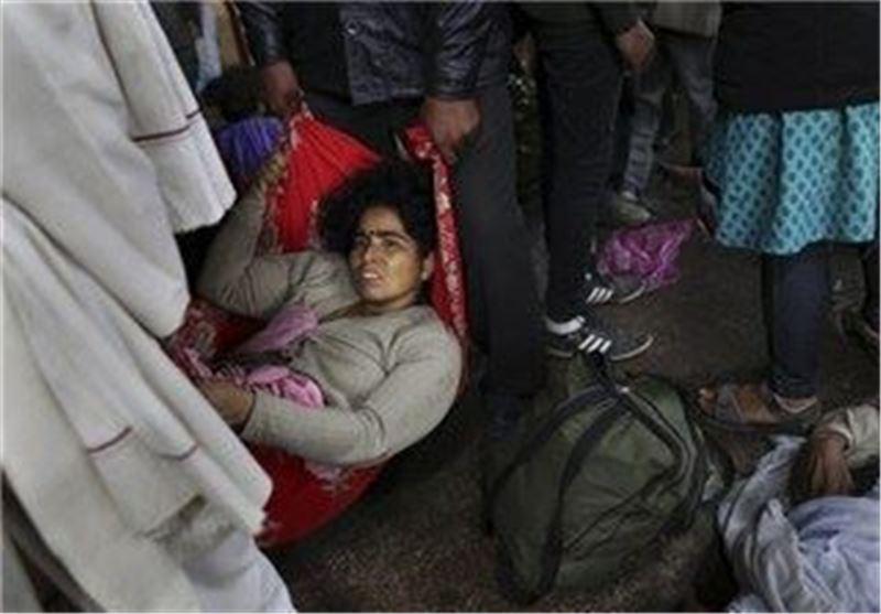 36 نفر در ازدحام ایستگاه قطار در هند کشته شدند
