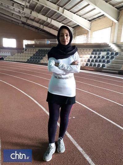 دونده بوشهری در مسابقات آسیایی سفر به ایران را تبلیغ می نماید