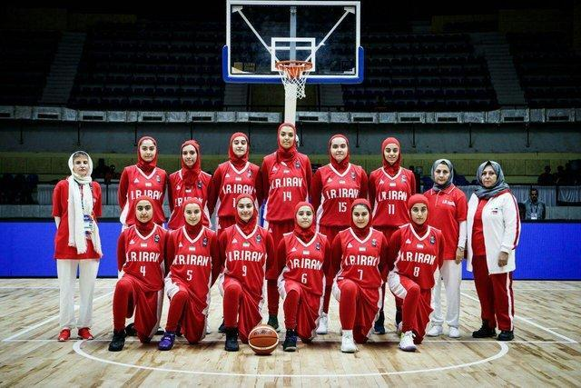 شکست دختران بسکتبالیست مقابل میزبان مسابقات قهرمانی آسیا