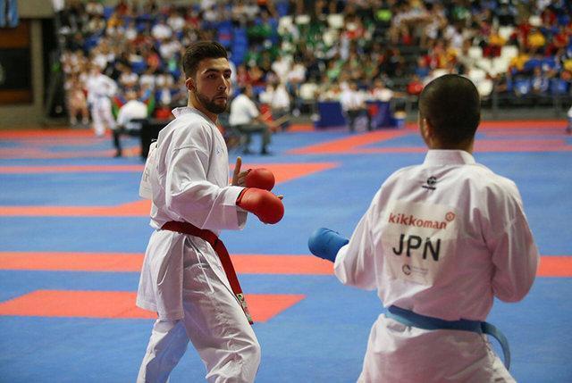 حمیده عباسعلی، حسن نیا و اباذری طلایی های روز دوم کاراته قهرمانی آسیا