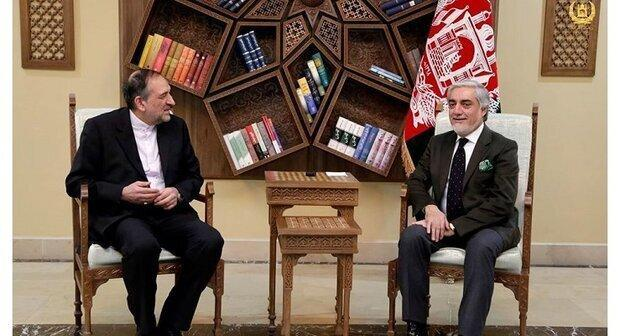عبدالله با سفیر ایران، ترکیه و آمریکا ملاقات کرد