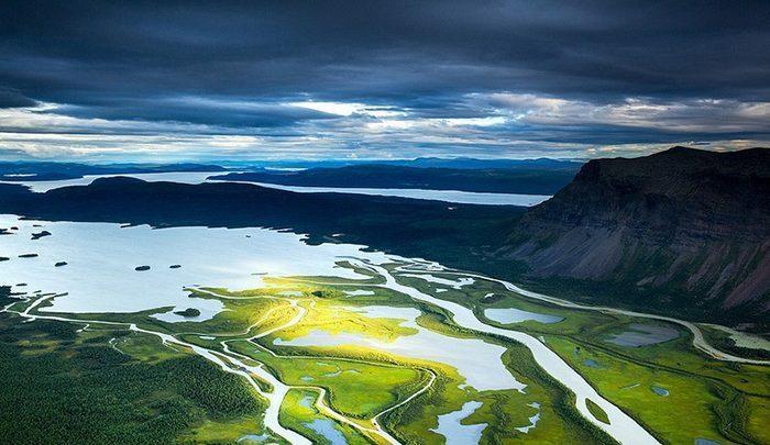 از سرزمین شمالی&hellip، عکس های هوایی زیبایی از چشم اندازهای جادویی این کشور