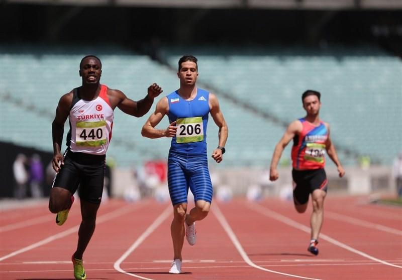 تفتیان راهی نیمه نهایی دوی 100 متر شد