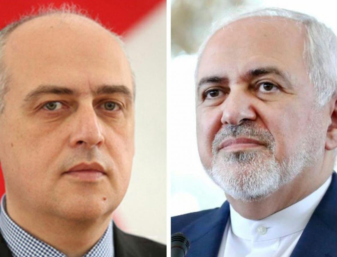 خبرنگاران رایزنی کرونایی وزرای خارجه ایران و گرجستان
