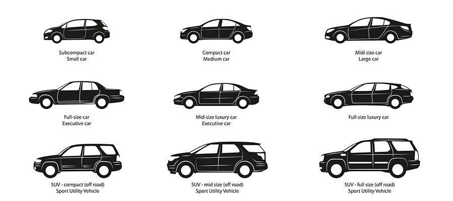 دسته بندی خودروهای سواری