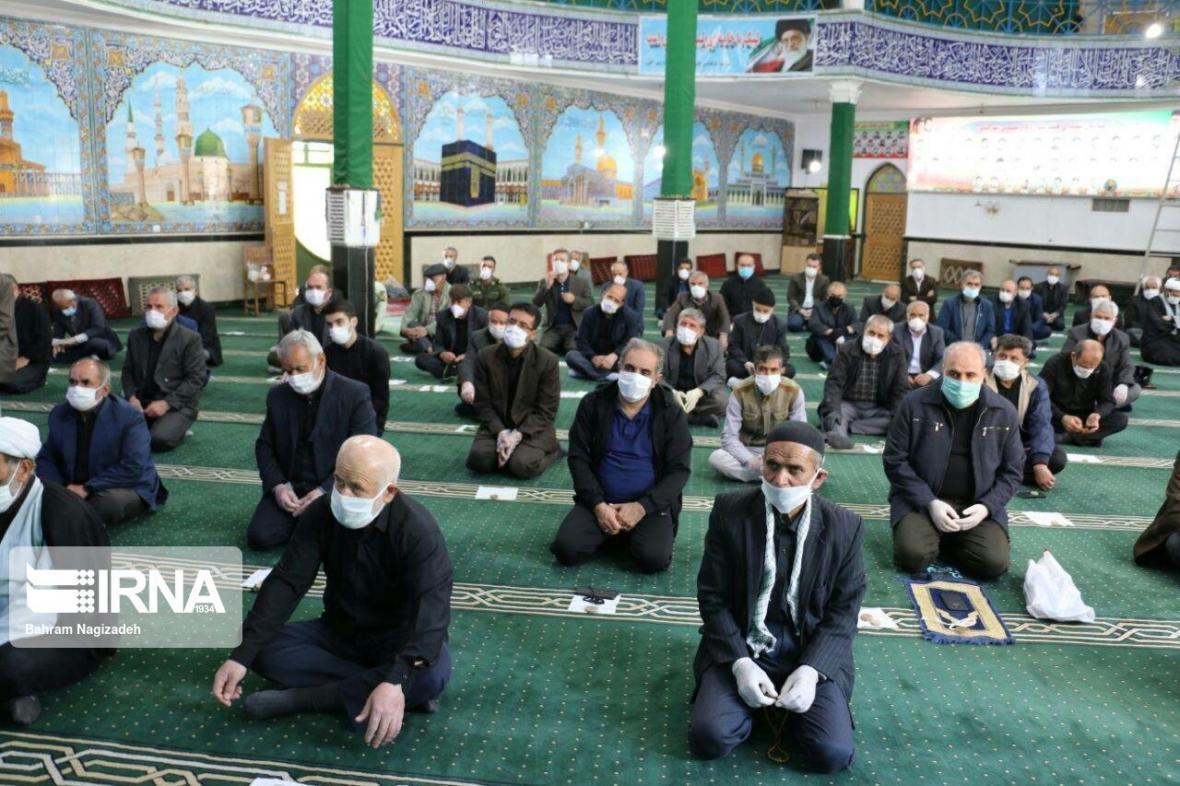 خبرنگاران برگزاری نماز آدینه در سه شهر استان قزوین