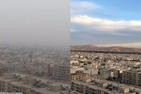 هوای قابل قبول پایتخت