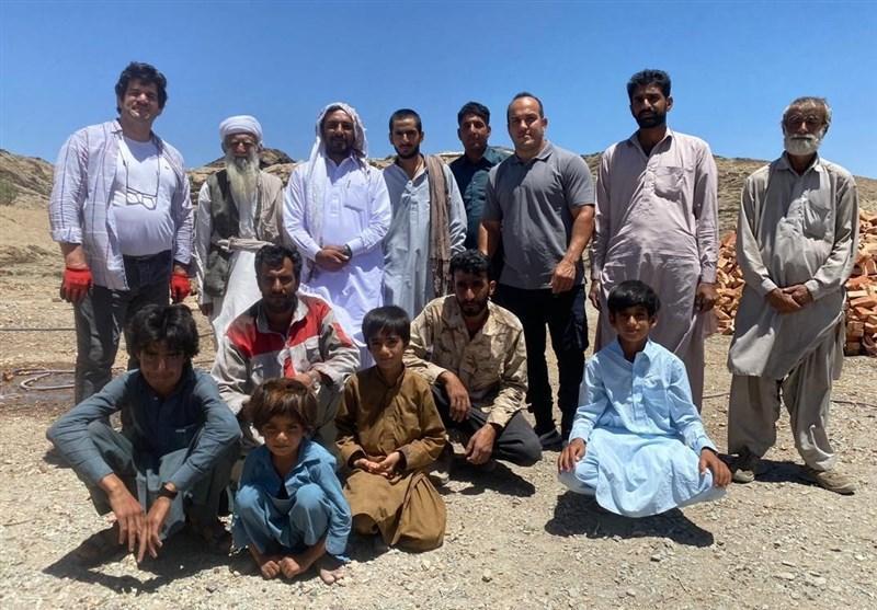 حضور رسول خادم و احسان لشکری در مناطق محروم زاهدان