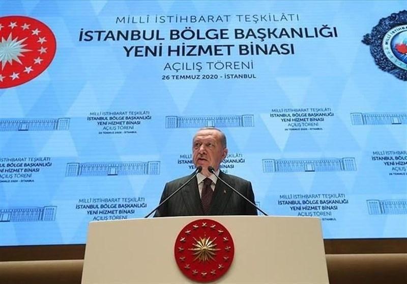 اردوغان: اقدامات میت باعث جلوگیری از پیش روی حفتر در لیبی شد