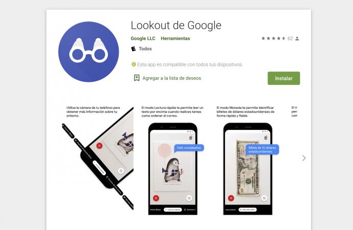 ابتکار جدید گوگل؛ اپلیکیشنی برای نابینایان