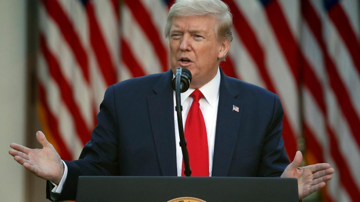 ترامپ: آنچه در کنوشا رخ می هد تروریسم داخلی است