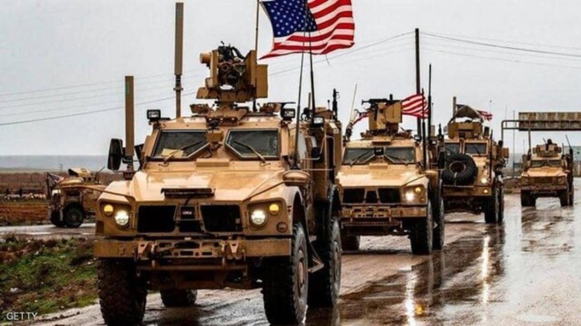انتقال 25 خودروی نظامی آمریکا از شمال سوریه به عراق