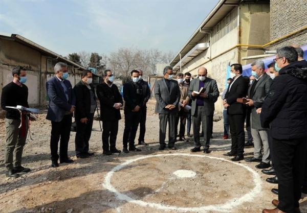 شروع ساخت خانه ملی اسکواش با حضور علی نژاد