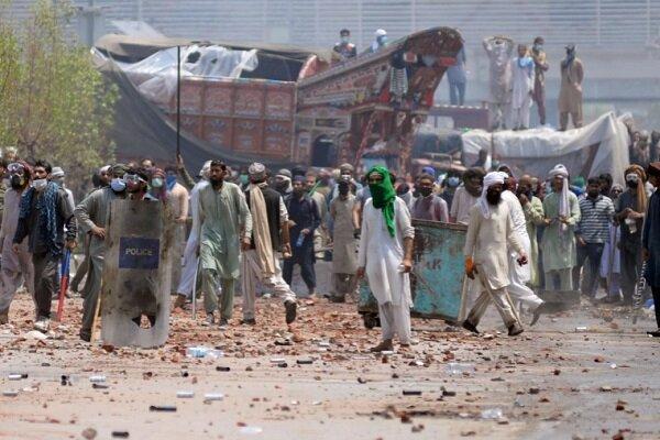 آماده باش در چند شهر پاکستان به دلیل ادامه اعتراضات تحریک لبیک