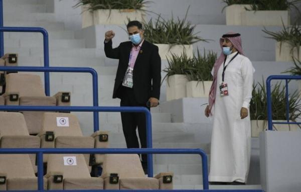 دنبال تغییر زمین تمرین در عربستان هستیم، مرغ فدراسیون یک پا داشت