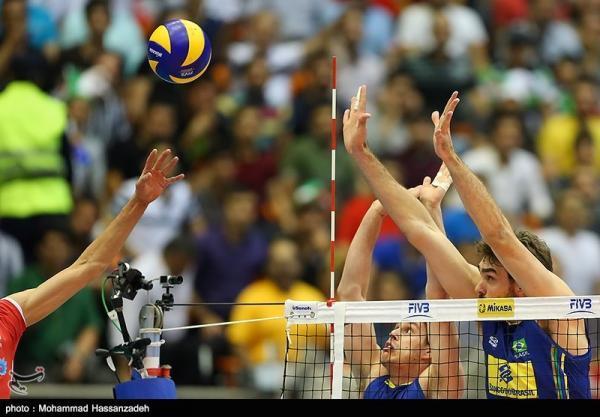 لیگ ملت های والیبال، ترکیب ایران مقابل برزیل اعلام شد
