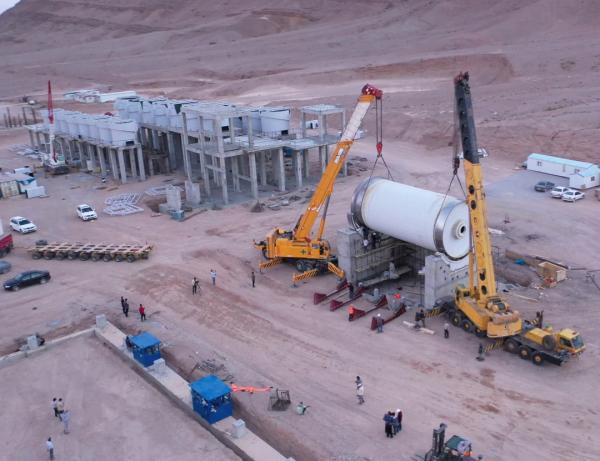 شمارش معکوس برای افتتاح بزرگترین پروژه در خاورمیانه ، پروژه مهدی آباد نمونه شاخص مشارکت دولت و بخش خصوصی