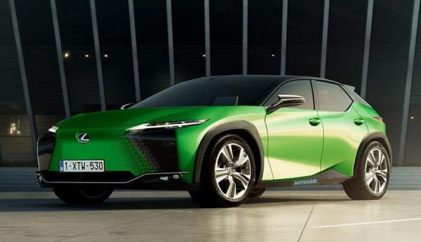 رونمایی از جدیدترین خودرو الکتریکی لکسوس