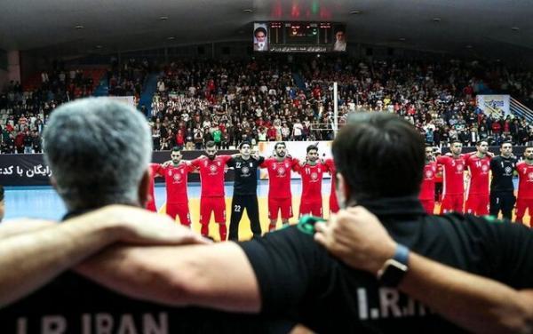 برنامه سفر تیم ملی فوتسال به بلاروس مشخص شد
