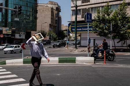 دمای تهران به 40 درجه می رسد ، وقوع رگبار در سه استان جنوبی