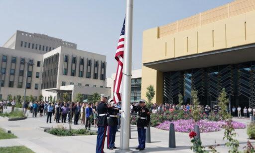 سفارت آمریکا برای سناریوهای سخت در کابل آماده می گردد